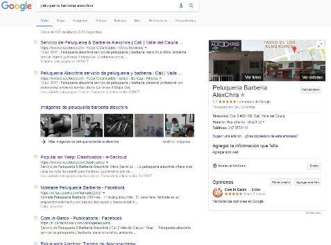 Aviso de Yeepi Clasificados :: Peluqueria AlexChris en Google