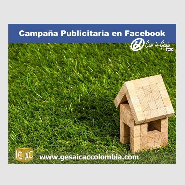 Campaña de Marketing Web para Facebook de GESA ICAC Colombia hecha por Com in-Genio