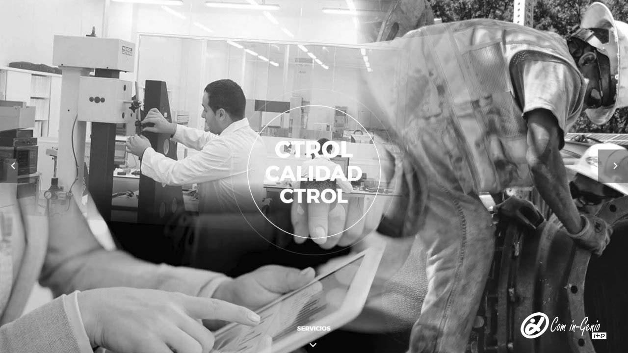 Foto Representativa servicios industriales especializados prestados por Com in-Genio en el área de Control de Calidad